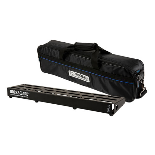RockBoard® DUO 2.2 Pedal Board with Gig Bag