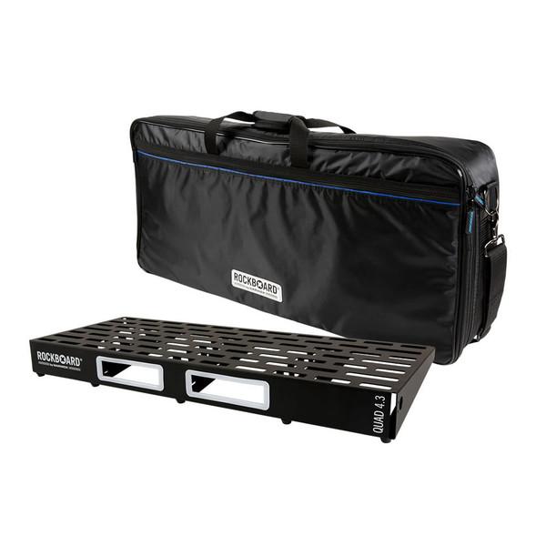 RockBoard® QUAD 4.3 Pedal Board with Gig Bag