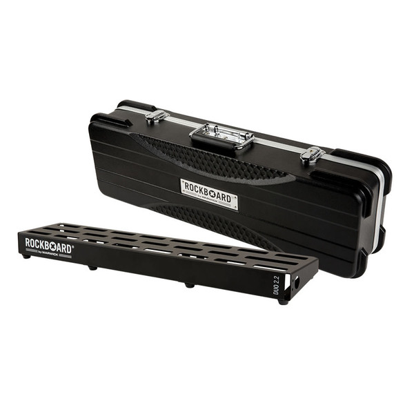 RockBoard® DUO 2.2 Pedal Board with ABS Case