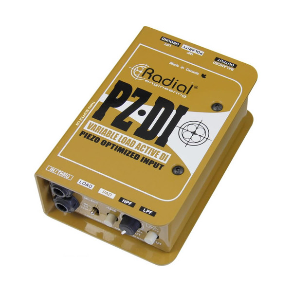Radial Engineering PZ-DI Orchestral Instrument DI