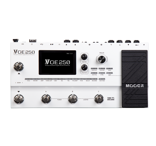 Mooer GE-250 Amp Modelling and Multi-Effects