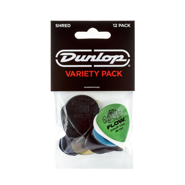 Jim Dunlop Shred Pick Variety Pack