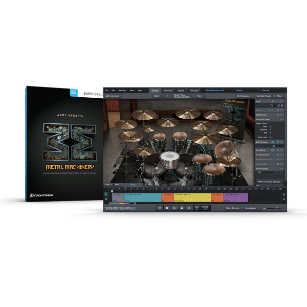 ToonTrack Metal Machinery SDX Expansion Pack