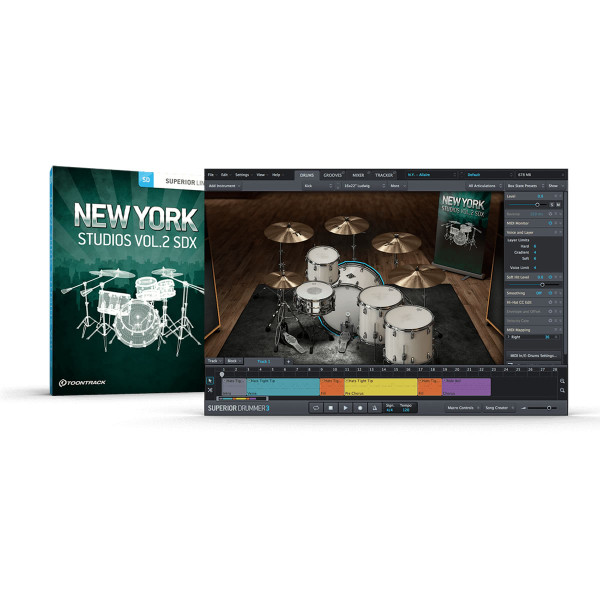 ToonTrack New York Studios Vol. 2 SDX Expansion Pack
