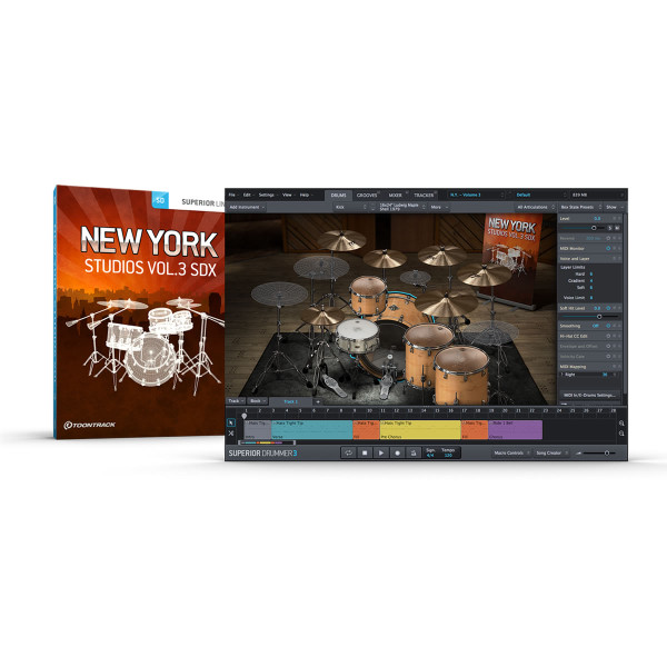 ToonTrack New York Studios Vol. 3 SDX Expansion Pack