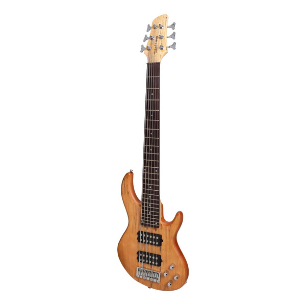 Tokai 'Legacy Series' 6-String Mahogany T-Style Bass Guitar - Natural Satin