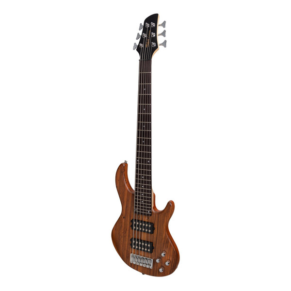 Tokai 'Legacy Series' 6-String Mahogany & Zebrano T-Style Bass - Natural Satin