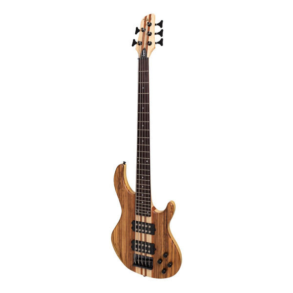 Tokai 'Legacy Series' 5-String Ash & Zebrano Neck-Through  Bass - Natural Satin