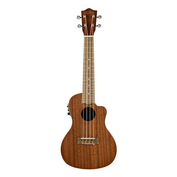 Lanikai Mahogany Series Concert Acoustic/Electric Ukulele