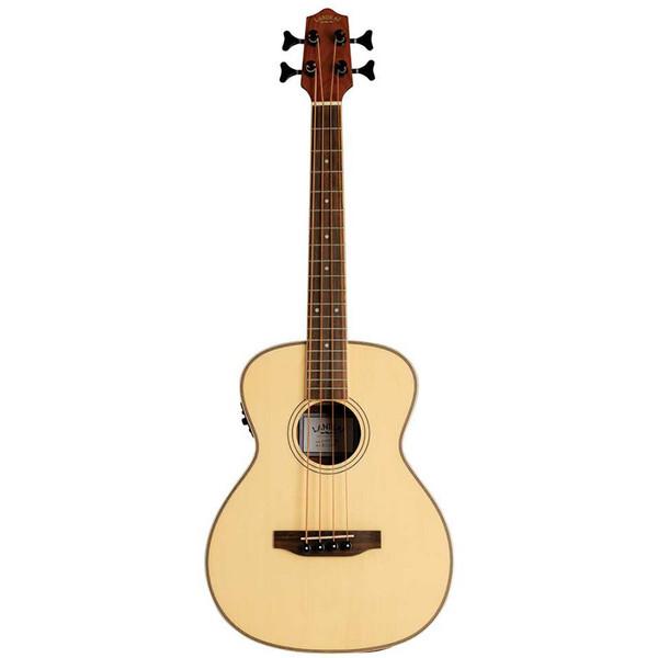 Lanikai Solid Spruce Top Series Acoustic/Electric Bass Ukulele