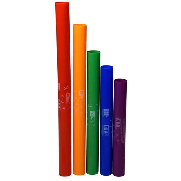Boomwhackers 5-Note Treble Chromatic Set
