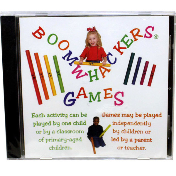 """Boomwhackers """"Games"""" CD Only"""