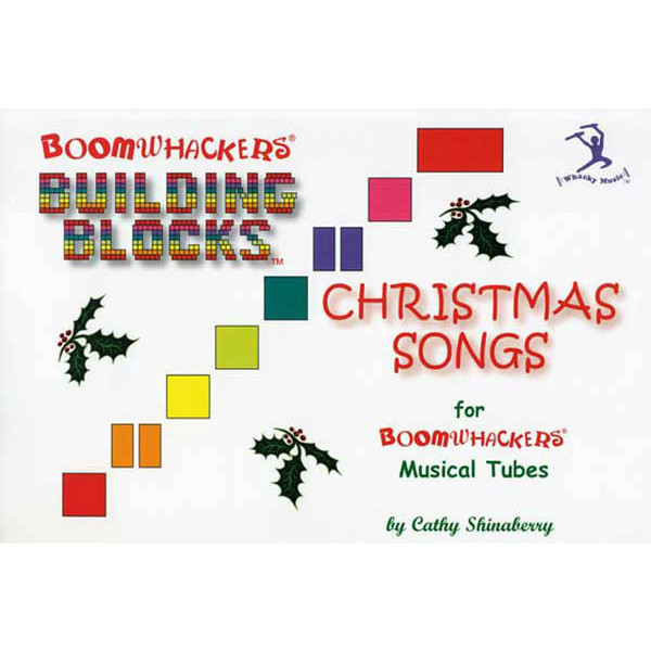 """Boomwhackers """"Building Blocks Christmas Songs"""" Book Only"""