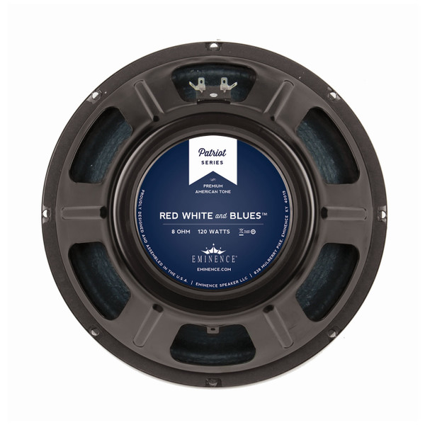"""Eminence Red, White and Blues™ 12"""" 120W Speaker"""