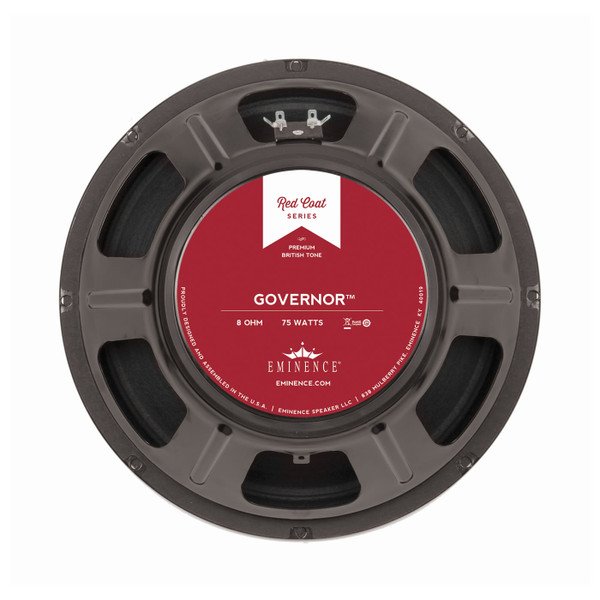 "Eminence The Governor™ 12"" 75W Speaker"