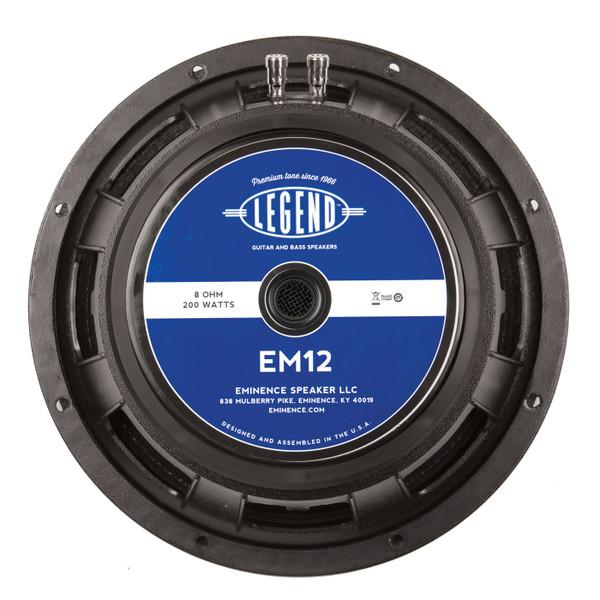 """Eminence Legend EM12 12"""" 200W Speaker"""