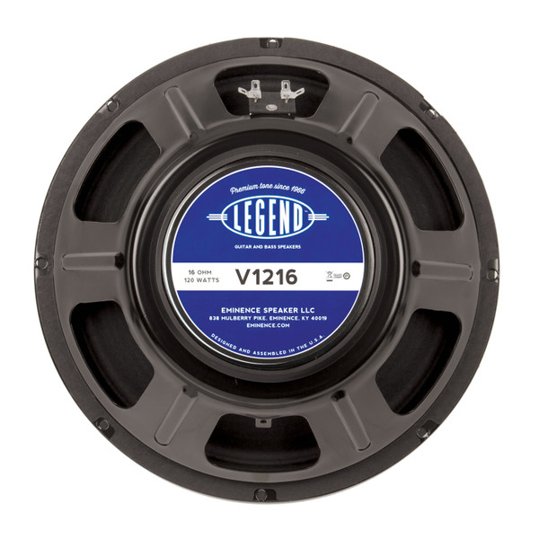"""Eminence Legend V1216 12"""" 120W Speaker"""