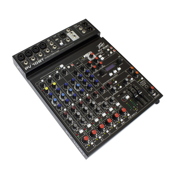 Peavey PV® 10BT Compact 10 Channel Mixer with Bluetooth