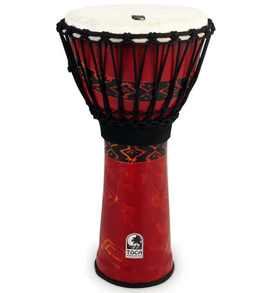 """Toca Freestyle 2 Series Djembe 12"""" in Bali Red"""