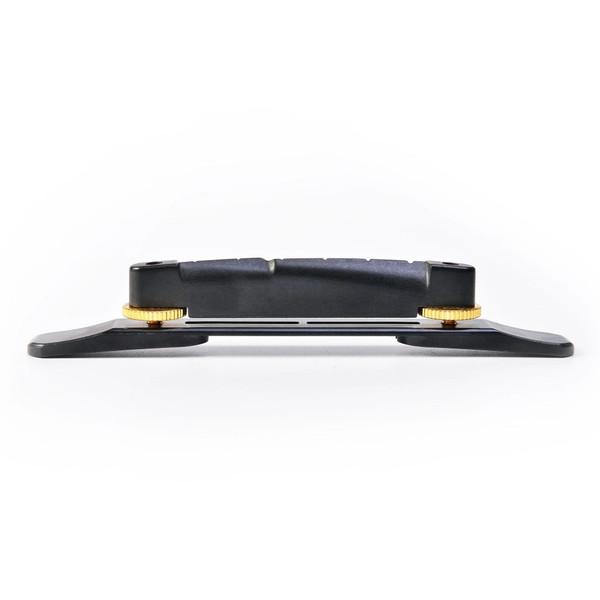 GraphTech ResoMax Low Profile Arch Top Guitar Bridge - Gold