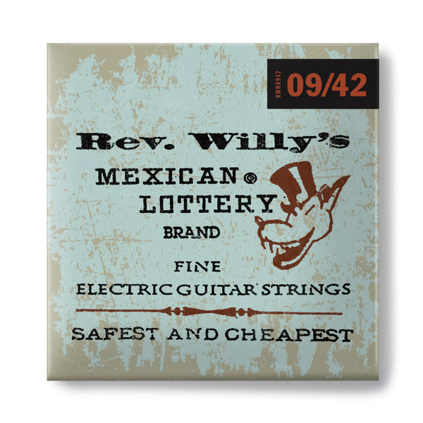 Jim Dunlop Rev. Willys 9-42 Guitar Strings