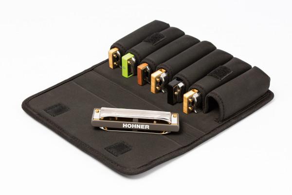 Hohner FlexCase M Harmonica Case - Holds 7 Diatonic Harmonicas