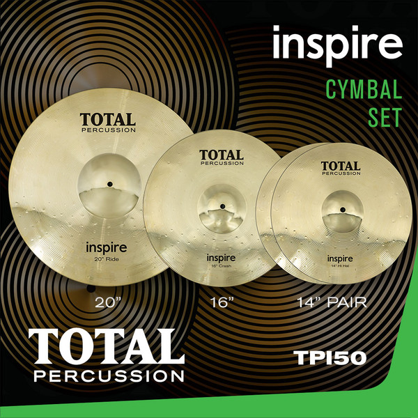 Total Percussion TPI50 Inspire Cymbal Set