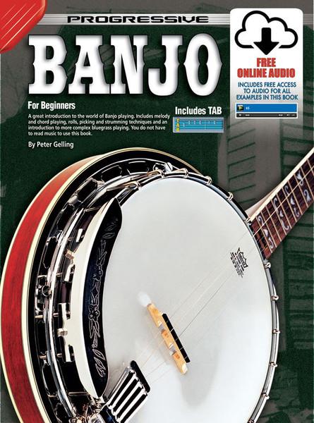 Progressive Banjo Book/Online Video & Audio