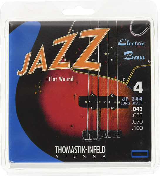 Thomastik Infeld JF344 Long Scale 43-100 Flatwound Strings