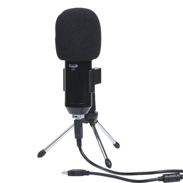 CAD Audio USB Side Address Studio Microphone