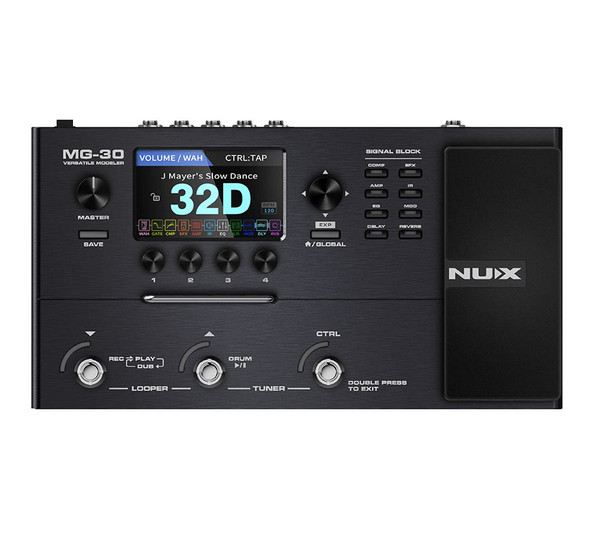 NU-X MG-30 Modeling Guitar Processor and Interface