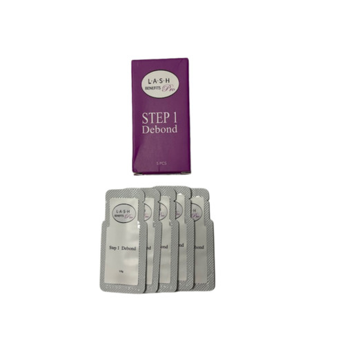 Three Step Lash Lift Refill Packets set of 5 (15 of packets total)