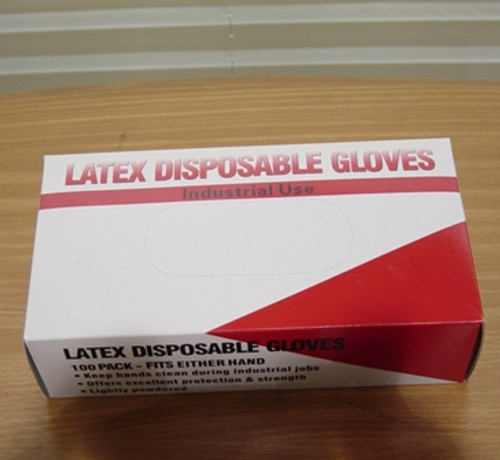Latex Gloves - Large size