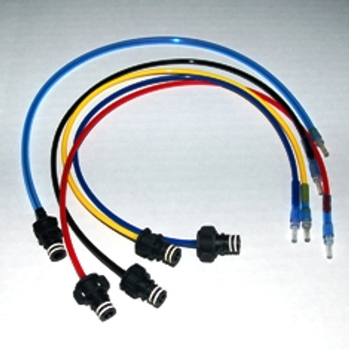 Hoses to refill HP02 cartridges for QuickFill machine