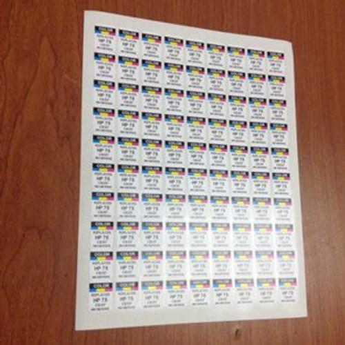 Labels HP CH564 Color (61XL)