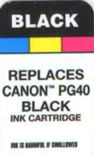 Labels Canon PG40