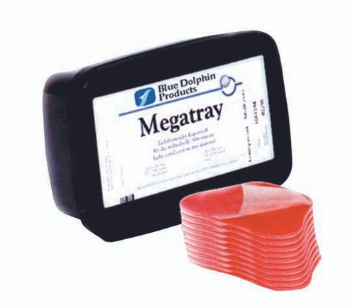 Megatray Light Curing Tray Material, 50/box, Pink