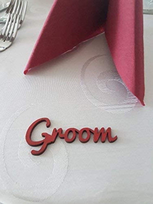 Wedding wooden table names
