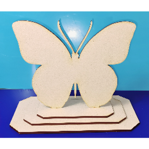 Butterfly shape with stand