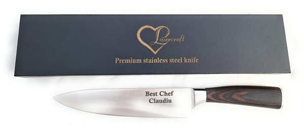 Chef Knife,Stainless Steel 8″,Knife Set with Ergonomic Handle, Kitchen Chef Knife