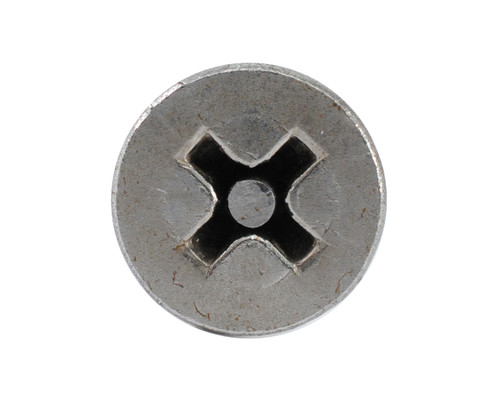 6 x 3/4 Flat Phillips Pin Self Tapping Stainless Steel