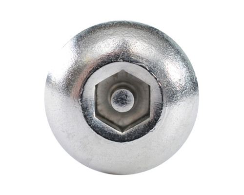 1/2-13 x 3-1/2 Button Socket Pin Stainless Steel