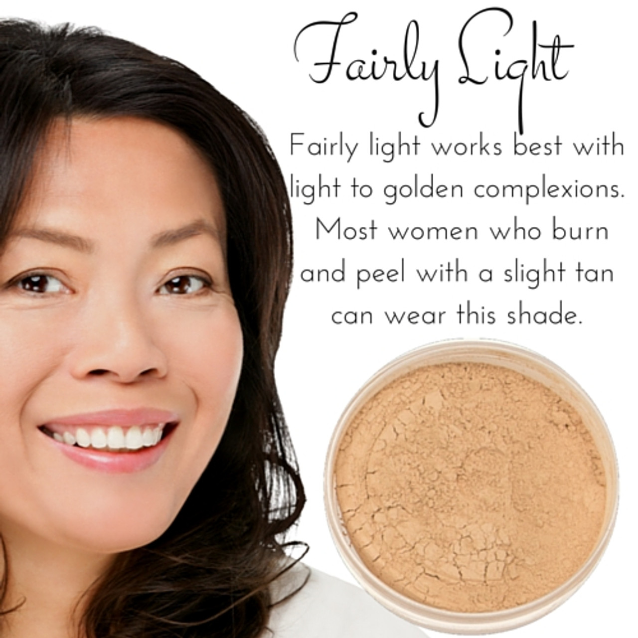 Full Coverage Matte Mineral Foundation Fairly Light Smm Cosmetics