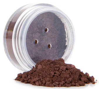 Coffee Bean Loose Matte Mineral Eyeshadow Liner | Chocolate Brown | Root Touch-up