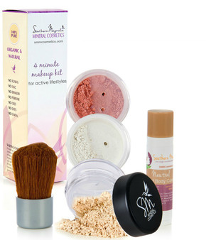 Fabulous in 4 Minutes Mineral Makeup Beauty Kit   A Must for Busy Moms