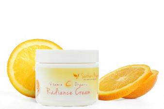 Organic Anti-Aging Vitamin C Face and Neck Radiance Cream | Brighter Complexion
