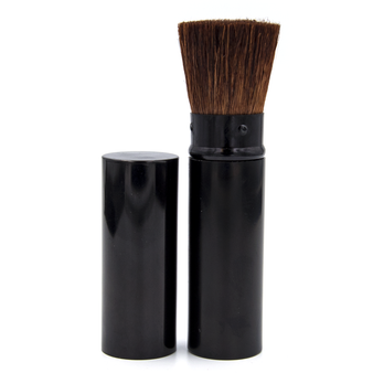Retractable Flat Bronzer Face Brush | Contour Cheeks + Jaw Line
