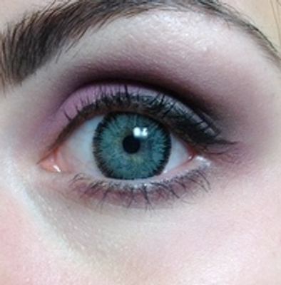 Complimentary Colors For Grey Eyes, a step by step tutorial!