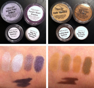 Makeup Madness Product Review for Southern Magnolia Minerals Eye Color Kits