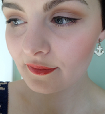 Pin-Up Inspired Look Using Southern Magnolia Mineral Makeup